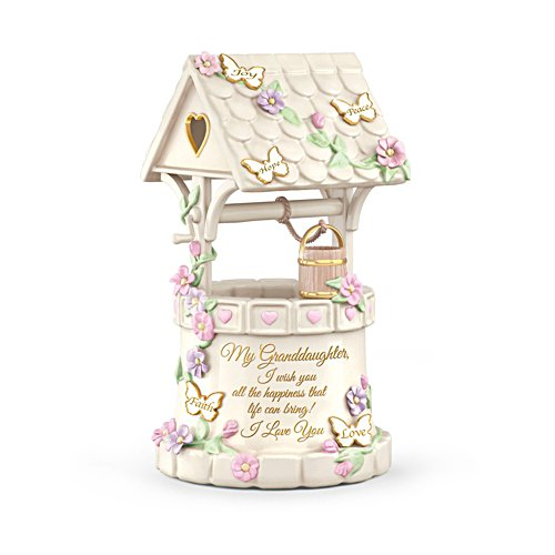 'My Granddaughter, I Wish You Love' Music Box
