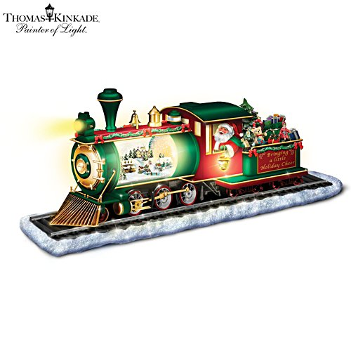 Thomas Kinkade 'Bringing Holiday Cheer' Illuminated Snowglobe Train