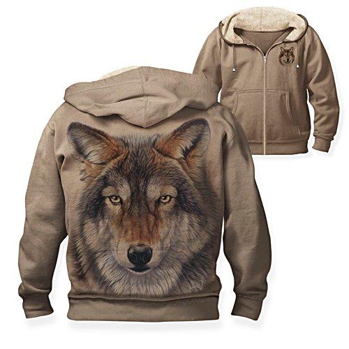 Al Agnew 'Wild Wolf' Men's Hoodie