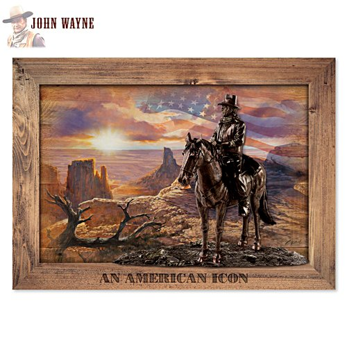John Wayne: An American Icon' Wall Décor