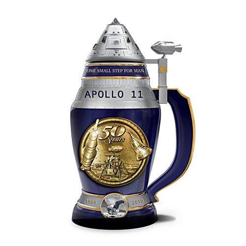 Apollo 11 50th Anniversary Heirloom Porcelain® Stein