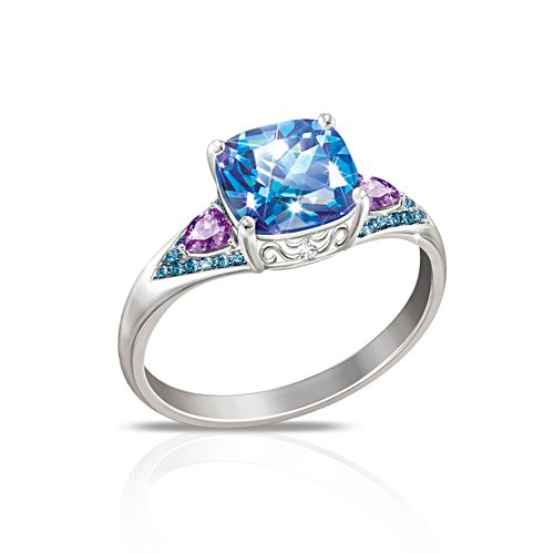 'Mystic Fantasy' Topaz, Diamond & Amethyst Ladies' Ring