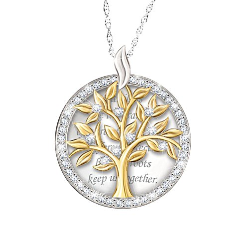 'Our Family Tree' Swarovski® Crystal Pendant