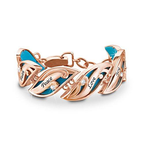 'Serene Breeze' Copper Ladies' Bracelet