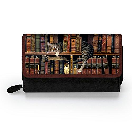 Charles Wysocki 'Classic Tails' Ladies' Tri-Fold Wallet