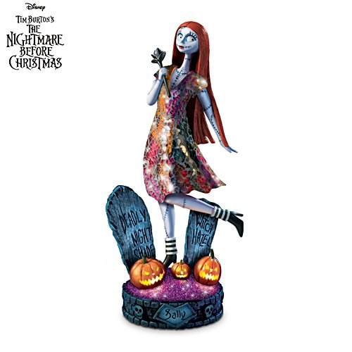 The Nightmare Before Christmas 'Moonlit Vision' Illuminated Sculpture