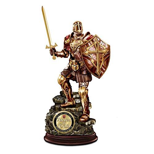 Ein Ritter Gottes – Skulptur