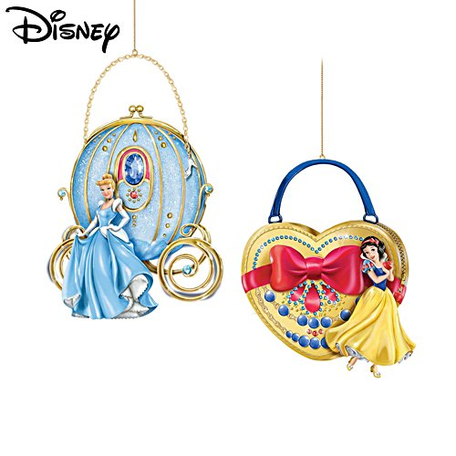 Magische Disney-prinsessen– kerstornamenten (set 1)