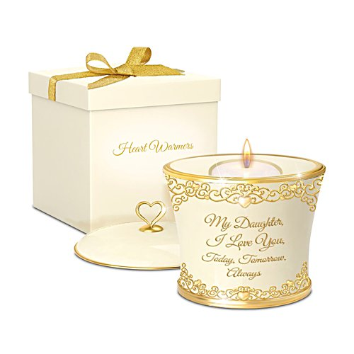 'My Daughter, I Love You Forever' Candleholder