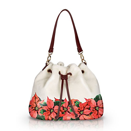 'Poinsettia Splendour' Ladies' Handbag