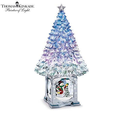 'The Magic Of The Season' Illuminated Musical Snowglobe Tree