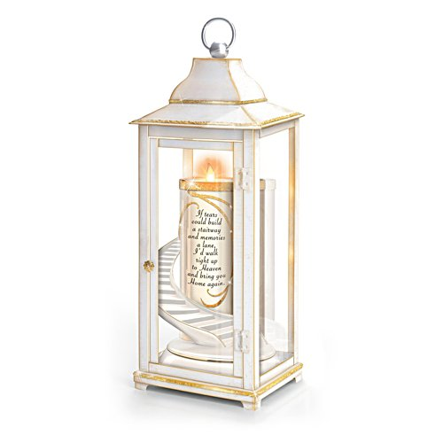 'Loving Remembrance' Illuminated Lantern