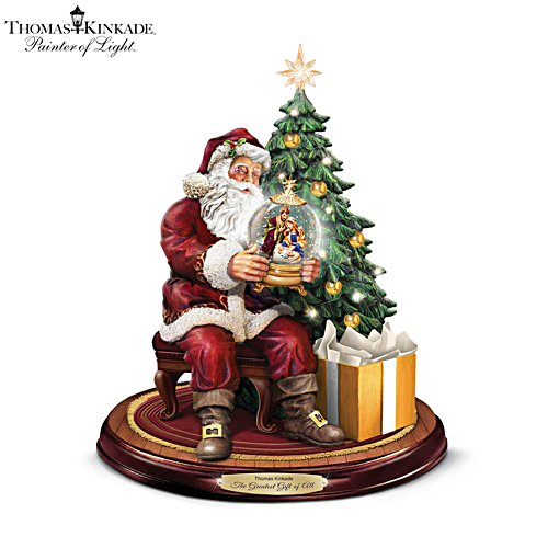 Thomas Kinkade 'The Greatest Gift of All' Illuminated Sculpture
