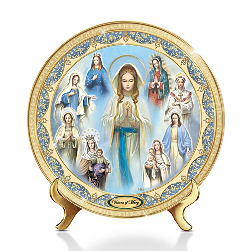 ' Visions Of Mary' Heirloom Porcelain® Collector Plate