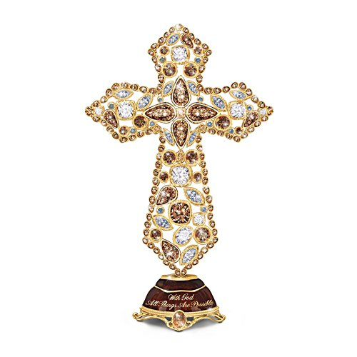 'Faith' Musical Mosaic Cross