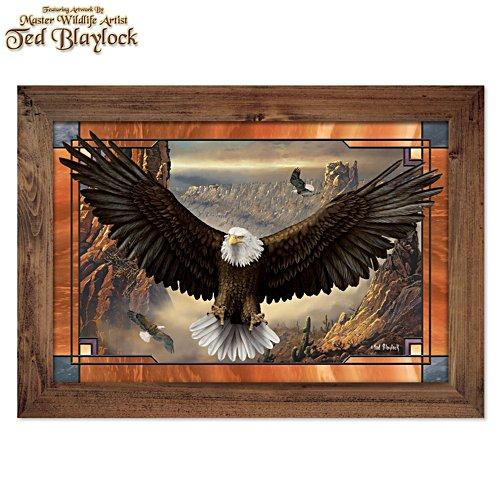 Schwingen der Kraft – Adler-Wandschmuck
