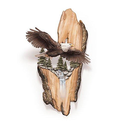 Ruf der Freiheit – Adler-Wandskulptur