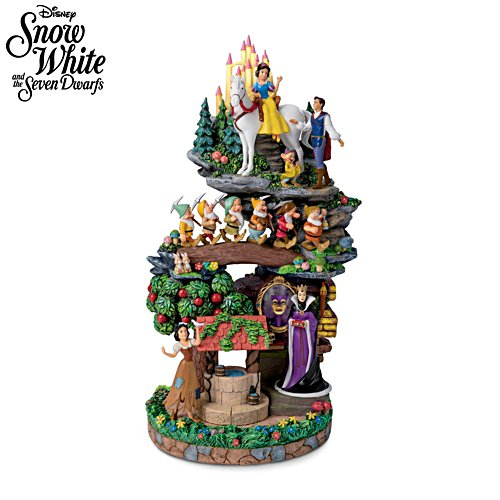 Disney Snow White And The Seven Dwarfs Sculpture