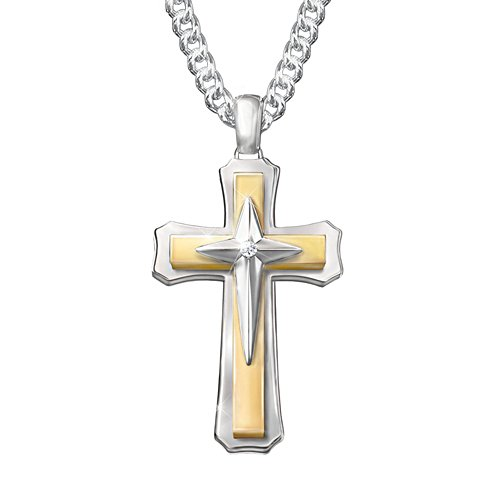'Strength Of Faith' Diamond Pendant