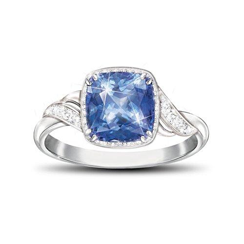 'Blue Splendour' Helenite Ladies' Ring