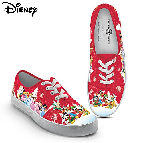 Disney 'Warmhearted Greetings' Canvas Shoes