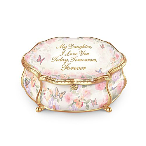 'My Daughter Forever' Heirloom Porcelain® Music Box