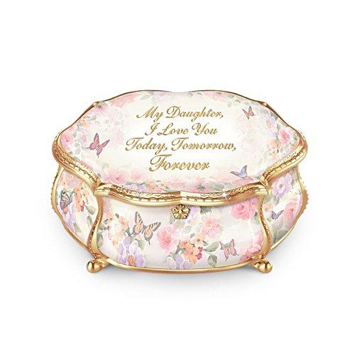 'My Daughter Forever' Heirloom Porcelain® Music Box
