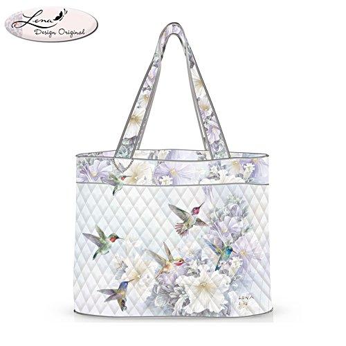 Lena Liu 'Garden Treasures' Hummingbird Tote Bag