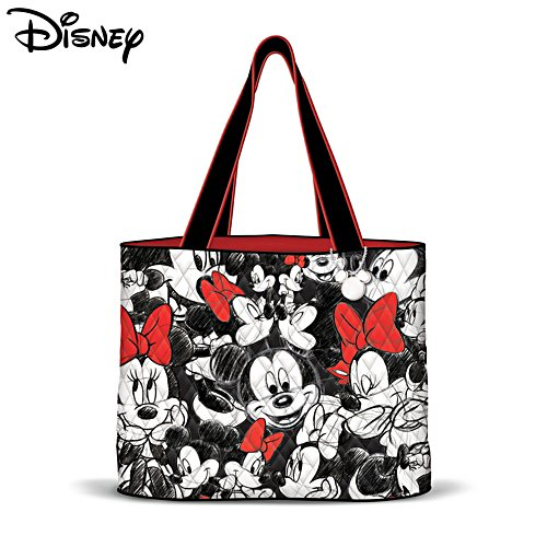 Disney Mickey Mouse & Minnie Mouse Tote Bag