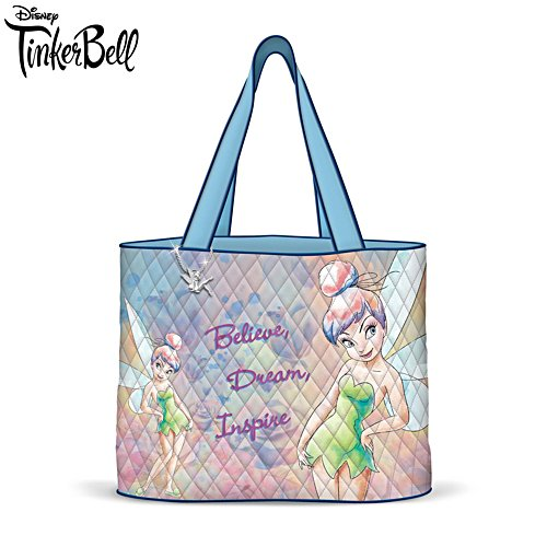 'Believe In The Magic' Tinker Bell Quilted Tote