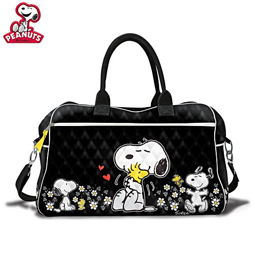 'Happiness Is Friendship' PEANUTS™ Quilted Weekender