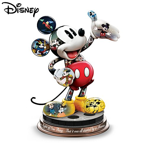 Disney 'Mickey Mouse's Magical Moments' Sculpture