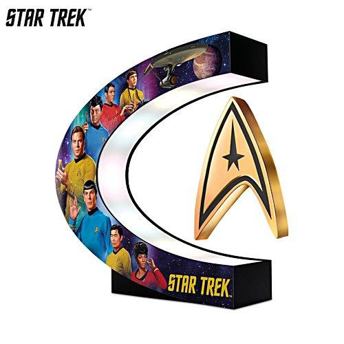 STAR TREK™ Levitating Command Insignia Sculpture