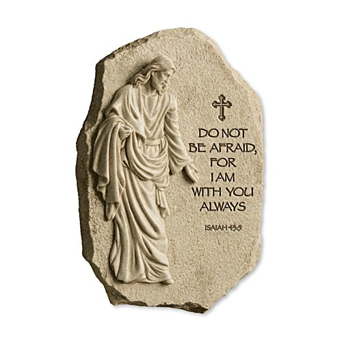 'I Am With You Always' Sculpted Jesus Plaque
