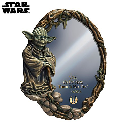 Star Wars™ Yoda Jedi Glass Mirror