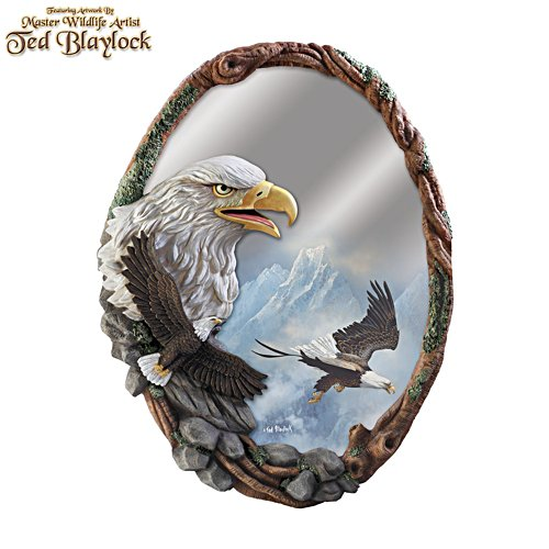 Im Angesicht des Adlers – Wandspiegel