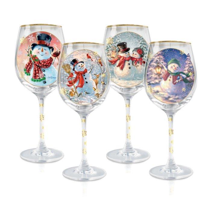 Disney Collectible Wine Glass Set Snow White