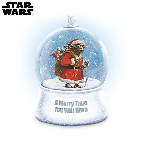 Star Wars™ 'A Merry Time You Will Have' Christmas Glitter Globe