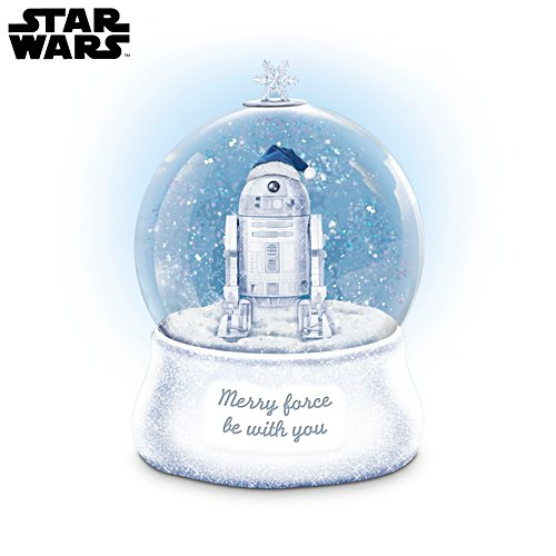 STAR WARS™ R2-D2™ 'May The Force Be With You' Glitter Globe