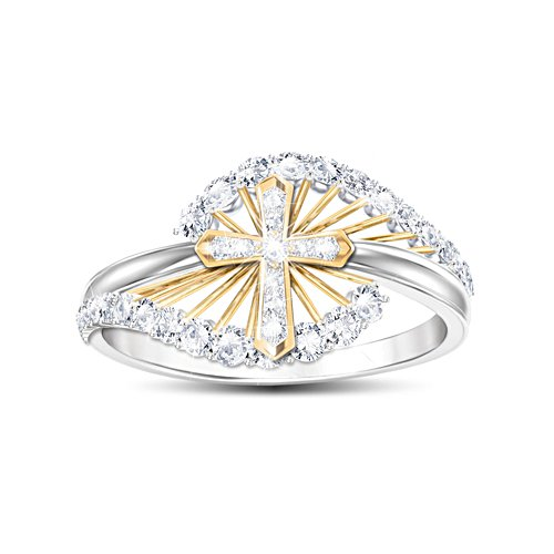 'Light Of Faith' Topaz Ladies' Ring