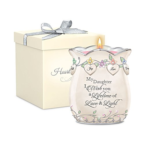 'My Daughter, I Wish You' Heirloom Porcelain® Candleholder