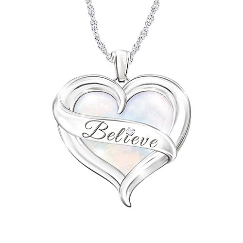 'Believe In Yourself' Diamond Ladies' Pendant