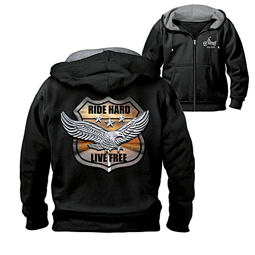 'Ride Hard On The Open Road' Men's Hoodie