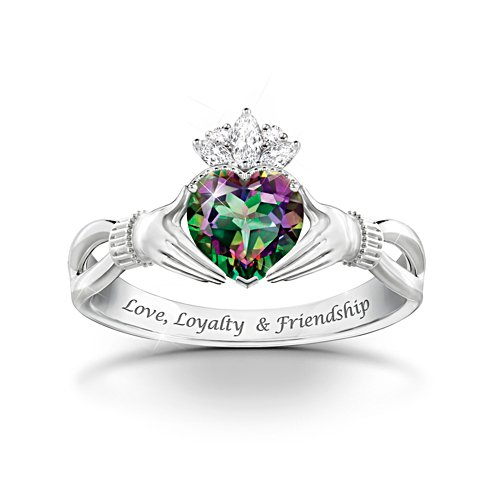 'Spirit Of Ireland' Mystic Topaz Ring