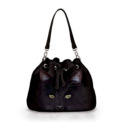 'Mysticool Cat' Fleece Handbag