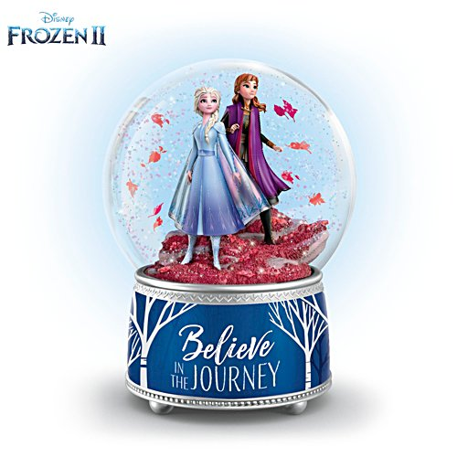 Disney FROZEN 2 'Believe In The Journey' Glitter Globe