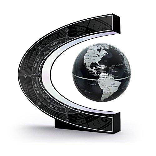 Levitating Globe Illuminated Sculpture
