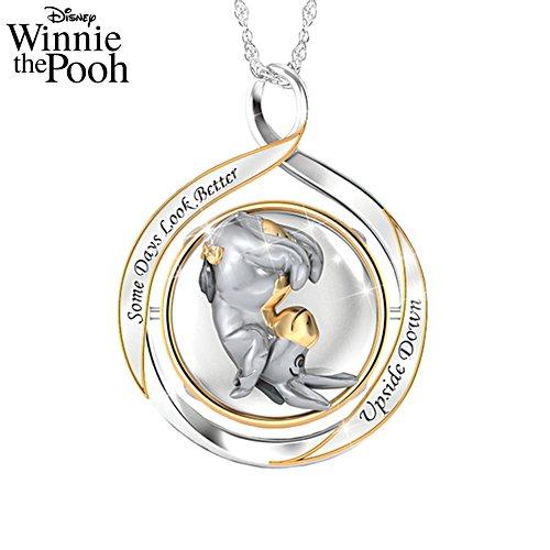 Disney Winnie The Pooh Eeyore 2-in-1 Ladies' Flip Pendant