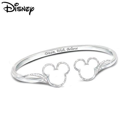 Disney Mickey Mouse 'Believe' Ladies' Bracelet