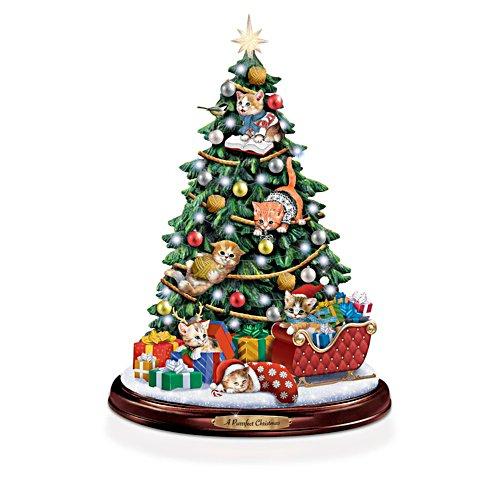 Jürgen Scholz 'A Purrrfect Christmas' Illuminated Tree